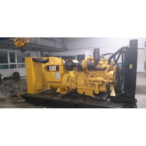 Дизель электростанция (ДЭС) Caterpillar 3406 23715 моточасов 2002 года